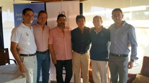 Diego Ascarrunz, Jorge Justiniano, José Luis Durán, Alberto Landívar, Percy MacLean