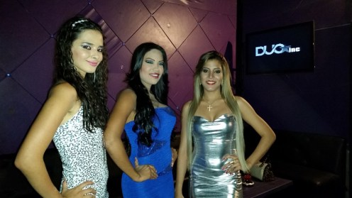 Modelos: Romy Paz, Victoria Guerra, Laura Borgeidroz