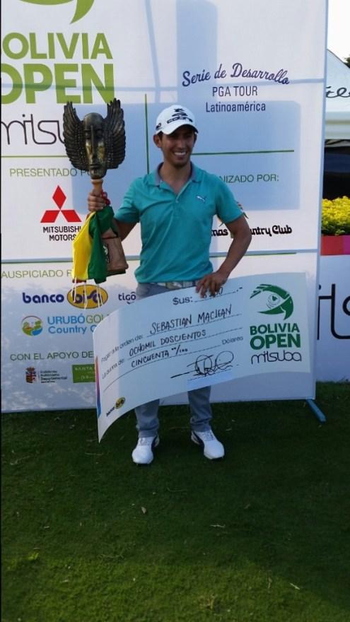 Sebastián MacLein, campeón del evento