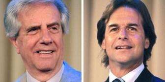 Ballotage en Uruguay: Vázquez 53%, Lacalle 41%