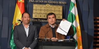 Gobierno lamenta intransigencia de Comcipo pero deja abierta puerta del diálogo
