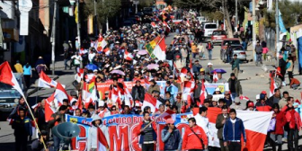 Se abren cinco frentes de conflicto en Bolivia