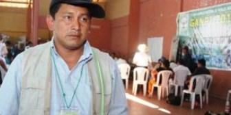 Adolfo Chávez: Gobierno de Evo pretende desaparecer a los dirigentes indígenas que están en resistencia