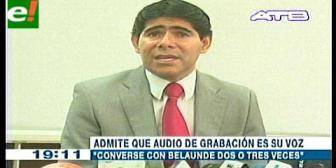 Ex ministro de Gobierno Jorge Pérez admite haber conversado con Belaunde en al menos tres oportunidades