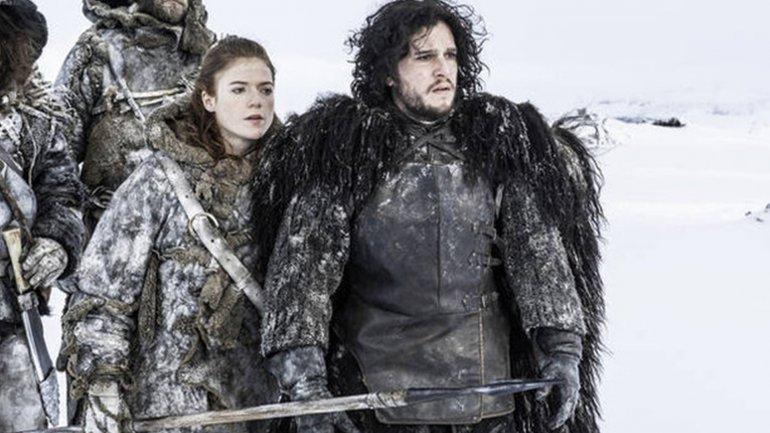Kit Harington y Rose Leslie de Game Of Thrones fueron vistos a los besos en público