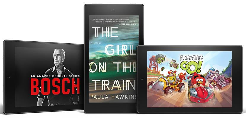 Kindle Fire 8 Amazon ocupa el tercer puesto en la venta de tablets a nivel mundial