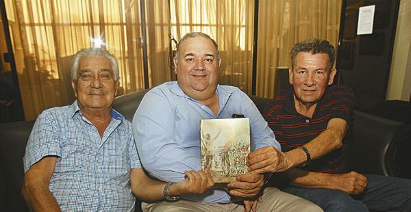 Jorge Aponte, Lorgio Serrate y Róger Lozada