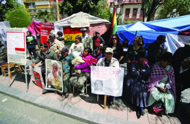 """""""Hablé con El Killer en la vigilia de las víctimas de la dictadura"""""""