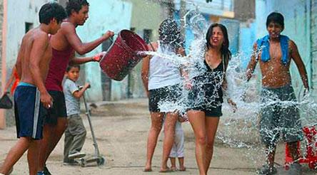 Pronostican altas temperaturas para los tres días de mojazón