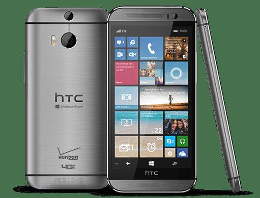 HTC M8 Phone Hero Una lista de trabajo desvela que HTC lanzará teléfonos con Windows 10