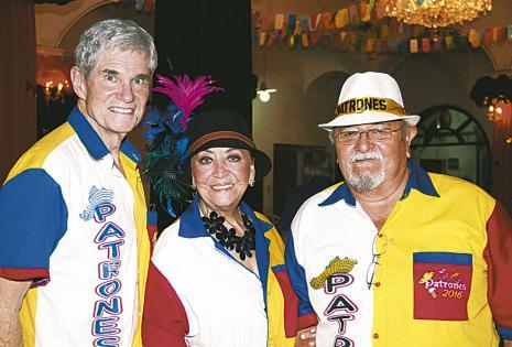 Richard Jackson, Tery de Jackson y Ricardo Berazaín