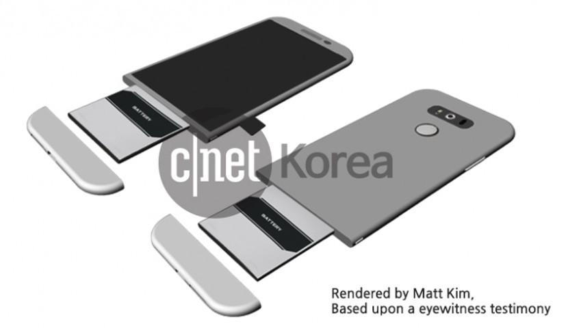 LG G5 render 830x480 Así es la nueva batería Magic Slot del LG G5