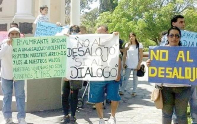 Policía reprime a colectividad boliviana en Buenos Aires