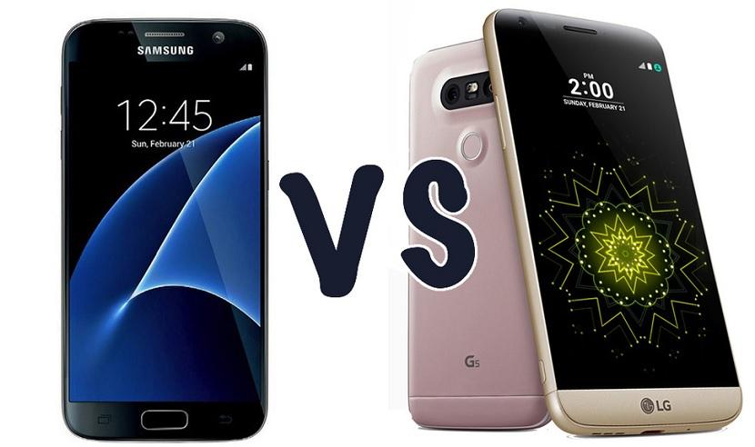 LG G5 Vs Galaxy S7 Samsung Galaxy S7 Vs LG G5, el continuismo frente a la evolución