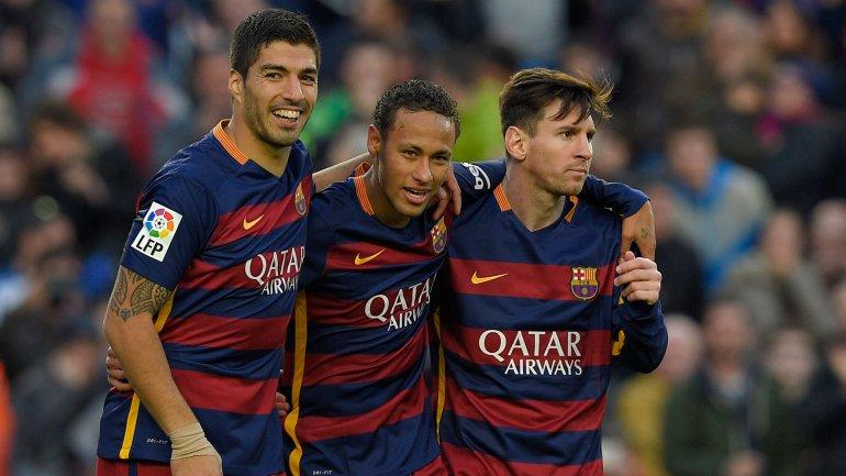 messi-suárez-Neymar