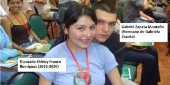 Diputada Franco: El Vice usó foto de hace 8 años para acusar