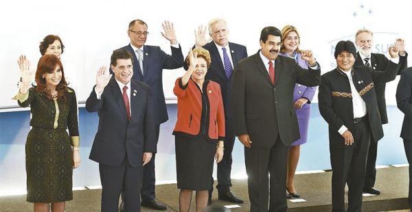 Los presidentes del Mercosur dieron un fuerte respaldo a Bolivia