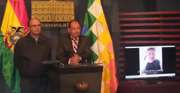 Los dos ministros de Estado se valieron de un video y un audio para sustentar sus aseveraciones.
