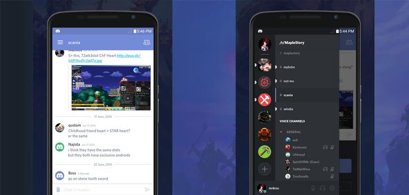 discord interfaz Discord, la nueva app de chat y voz creada especialmente para el gaming