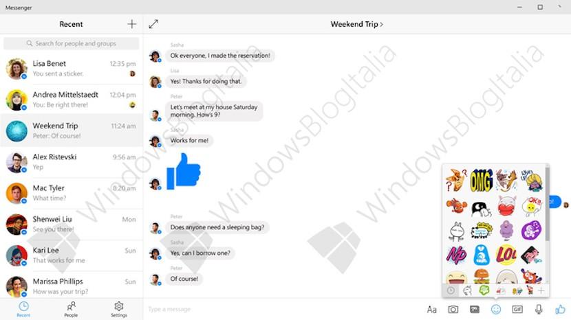 Facebook Messenger Windows 10 1 830x466 Facebook Messenger para Windows 10 ya está en fase beta