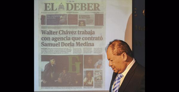 El ministro Carlos Romero mostró  ELDEBER cuando se informó de que Chávez trabajaba en Gramma