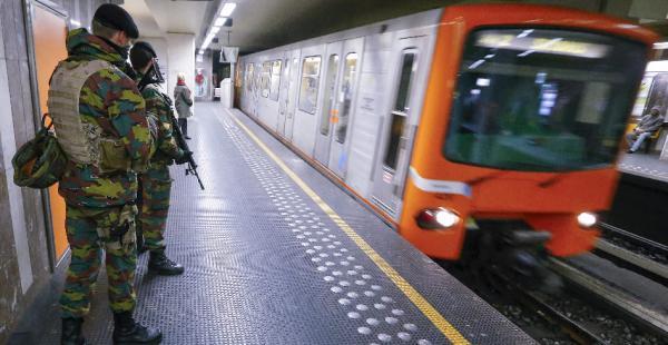 Los controles se intensificaron en las estaciones de metro para evitar más ataques