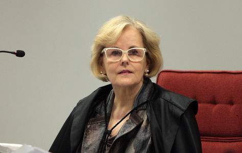 La juez Rosa Weber. Foto: www.correiogravatai.com.br