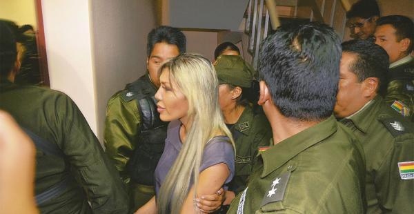 Gabriela Zapata, exejecutiva de CAMC, volvió a la cárcel después de que el juez denegara su libertad
