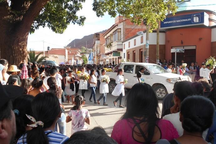Este domingo enterraron el cuerpo de Carola Ortega Cruz. Foto: Gentileza