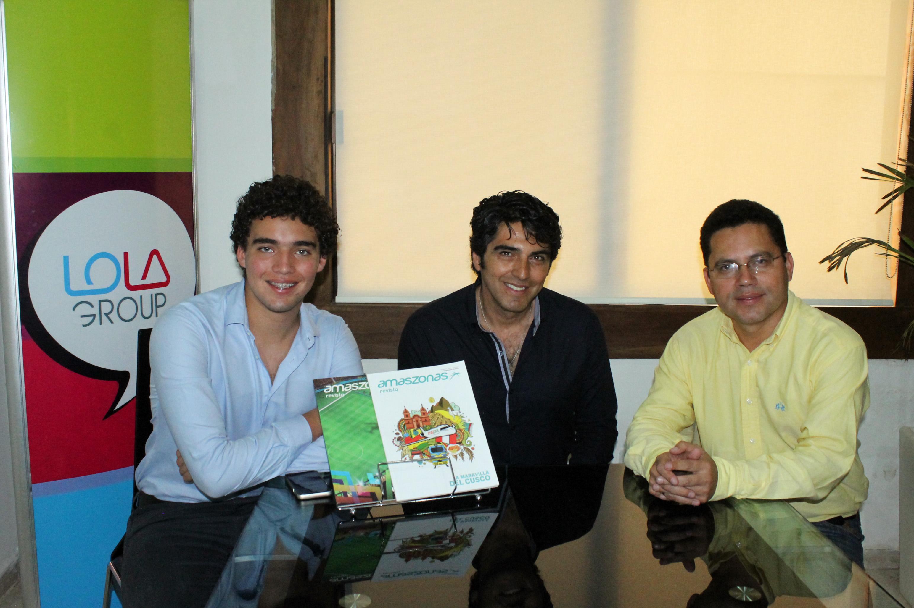 Alexis, Milton Cortez y Eddy Luis Franco