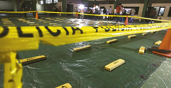 En el Comando de Santa Cruz se mostró la droga secuestrada