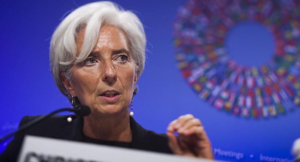La directora gerente del FMI, Christine Lagarde. EFEArchivo