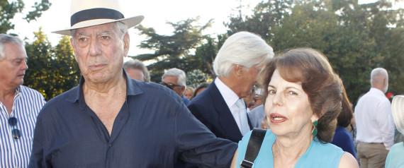 MARIO VARGAS LLOSA Y PATRICIA LLOSA