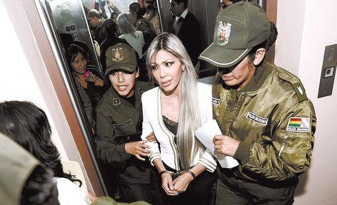 Juzgado. La Sala Penal 1ª rechazó ayer el pedido de Zapata de retornar al penal de Obrajes.