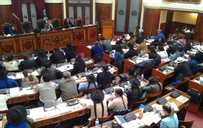 El vicepresidente justifica que militantes políticos y dirigentes sindicales puedan postular a la Defensoría del Pueblo