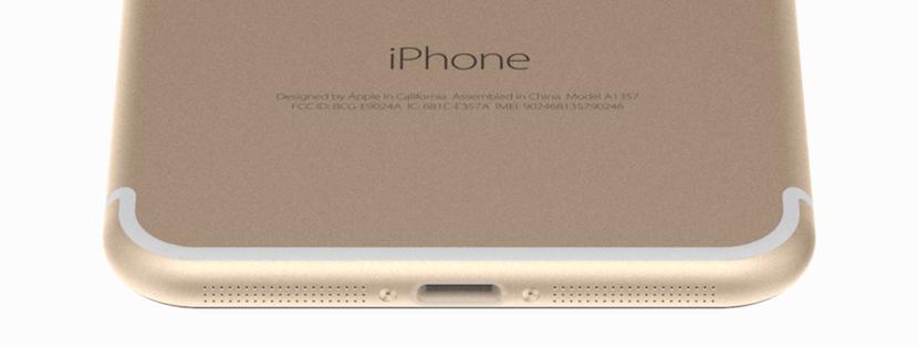 iPhone 7-puerto
