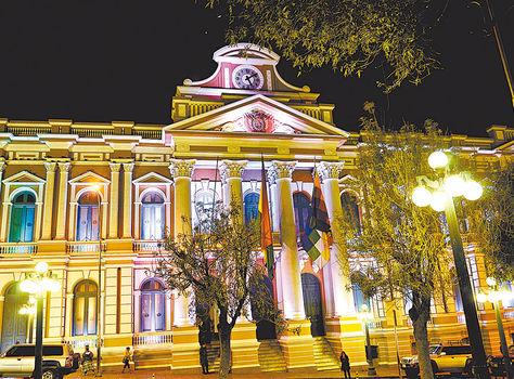 LaPaz. La sede del Legislativo donde se debatirá la nueva designación.