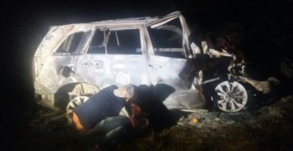 Un grave accidente ocurrió en la carretera Santa Cruz- Puerto Suárez