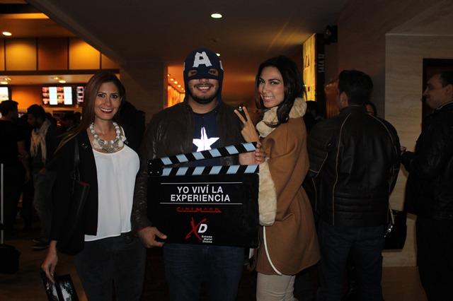 Martha Andrea Peláez, José Carlos Pinheiro y Olivia Pinheiro_
