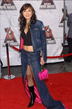 Kelly Hu en la entrega de 2004.