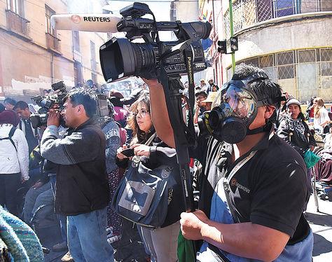 Comunicación. Trabajadores de la prensa aún no gozan del seguro de vida e invalidez permanente.
