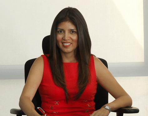 Karen Rojo, alcaldesa de Antofagasta. Foto: www.timeline.cl