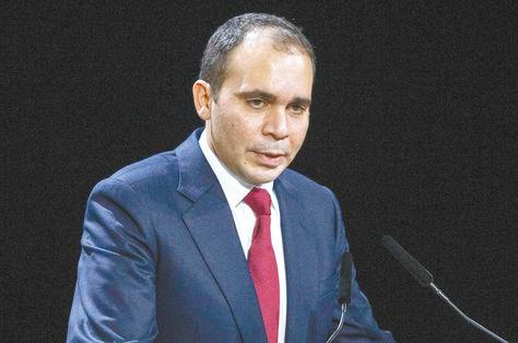 El jordano Ali bin al Hussein.