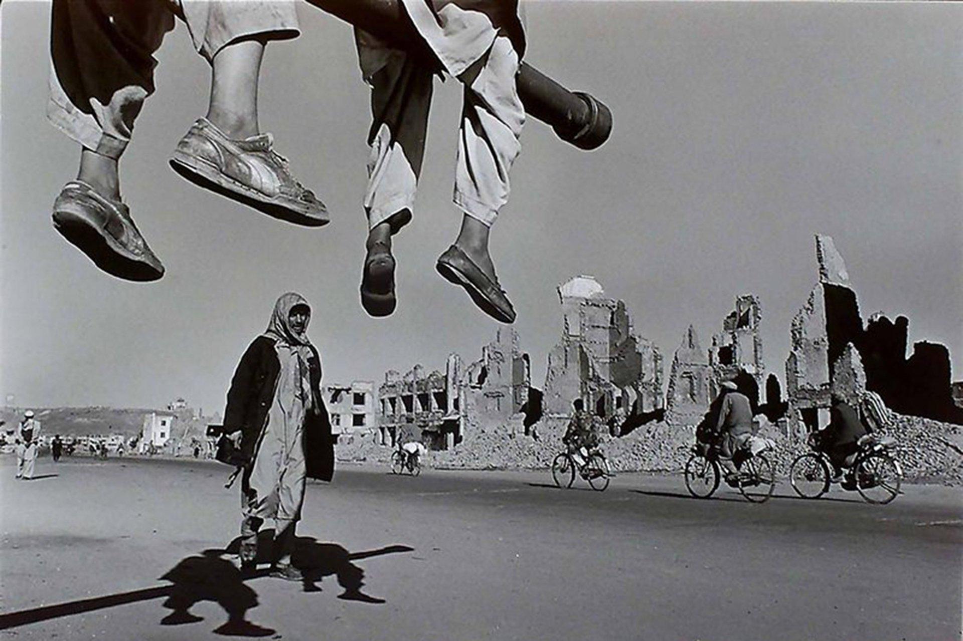 (Afganistán, 1996) Nachtwey trabajó en la revista Time desde 1984 y fue miembro de la agencia de fotografía Magnum entre 1986 y 2001
