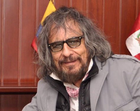 Gastón Ugalde, artista visual boliviano.