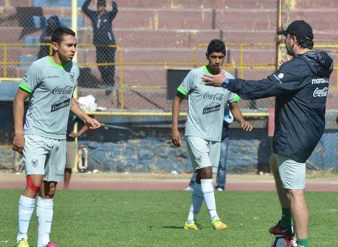 La selección cerró sus prácticas en Cochabamba antes de viajar a Estados Unidos.