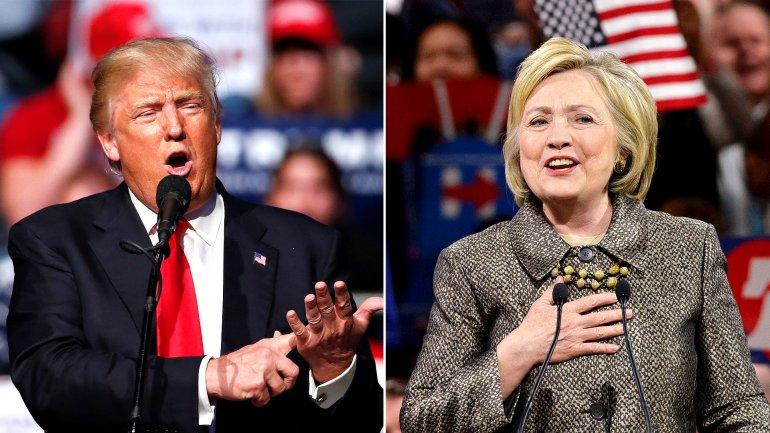 Las primeras encuestas muestran una gran paridad entre los dos candidatos