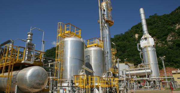 La producción de gas natural cae en el país.