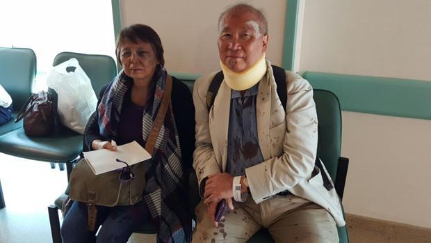 Dos de los heridos en el accidente de autobús en Montoro, en el Hospital - J. M. COLLANTES