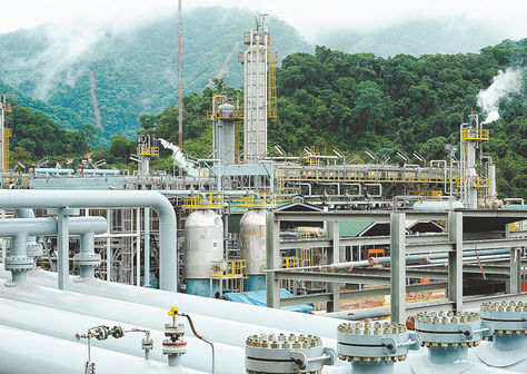 La planta de procesamiento de gas Itaú, ubicada en el municipio de Yacuiba, en Tarija.